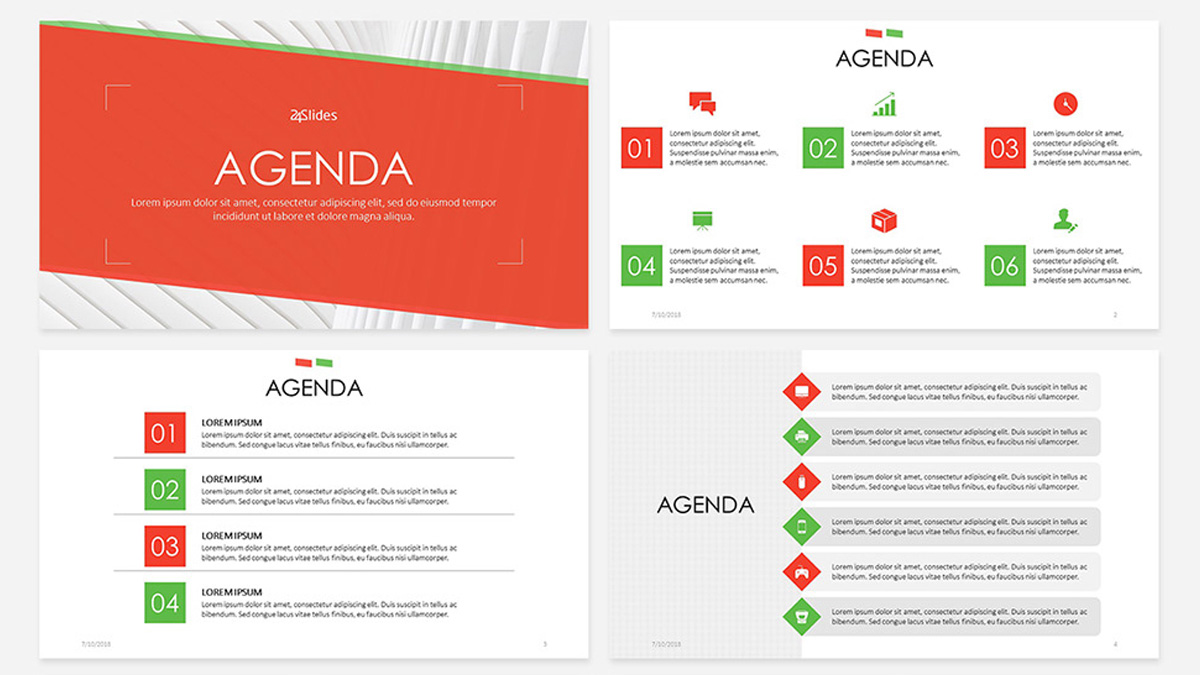 It's hard enough managing your own time. Agenda Free Powerpoint Template