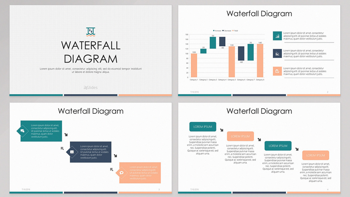 hight resolution of diagram presentation template