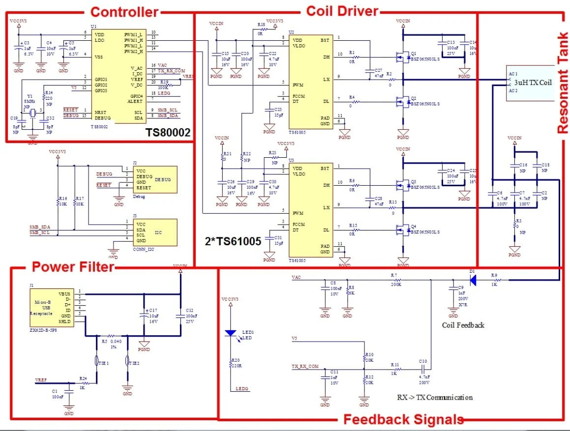 hight resolution of tswitx 5v 2rx evm evaluation module schematic click on schematic to enlarge