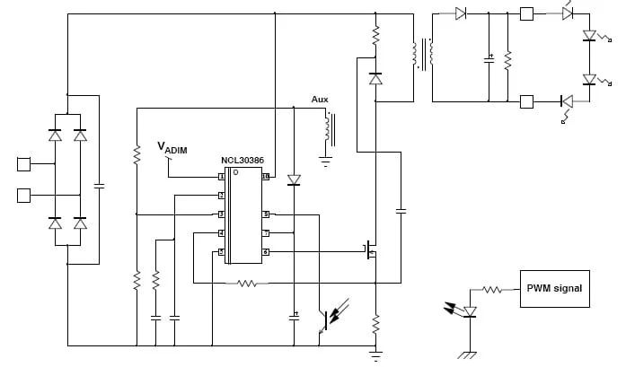executive summary of the efficient led driver circuit