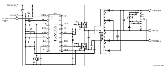highly efficient power supply controller