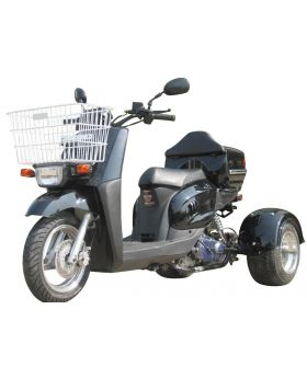 hight resolution of pro ice bear mini cruzzer 49cc trike scooter fully automatic transmission air cooled