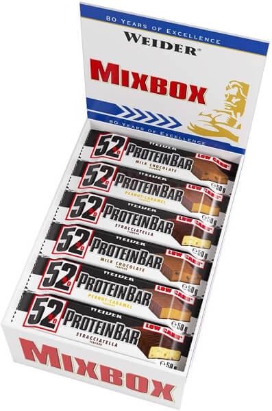 Weider 52% Protein Bar Mix-Box