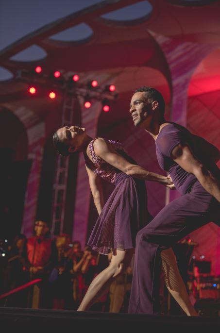 MUSE/IQUE DANCE PERFORMANCES - RITMO/TOWN - FEATURING BALLET HISPANICO- LIGHTING