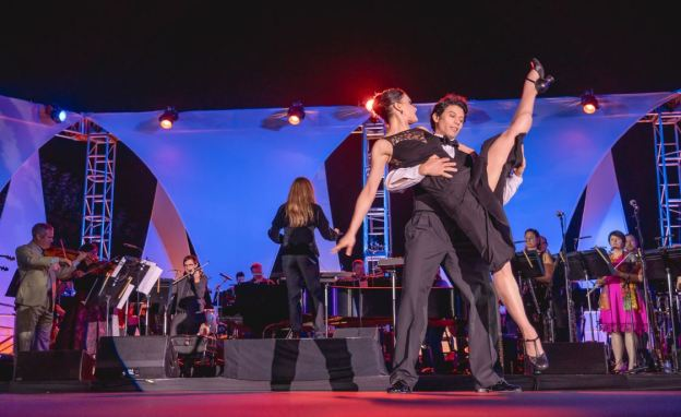 MUSE/IQUE DANCE PERFORMANCES - U.S./ROUTES - FEATURING THE AMERICAN BALLET THEATRE - LIGHTING