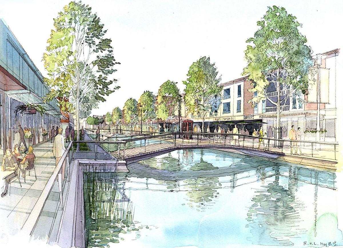 Westchase Longrange Master Plan  Powers Brown Architecture