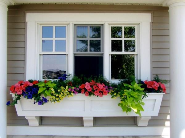 window box powerscourt garden