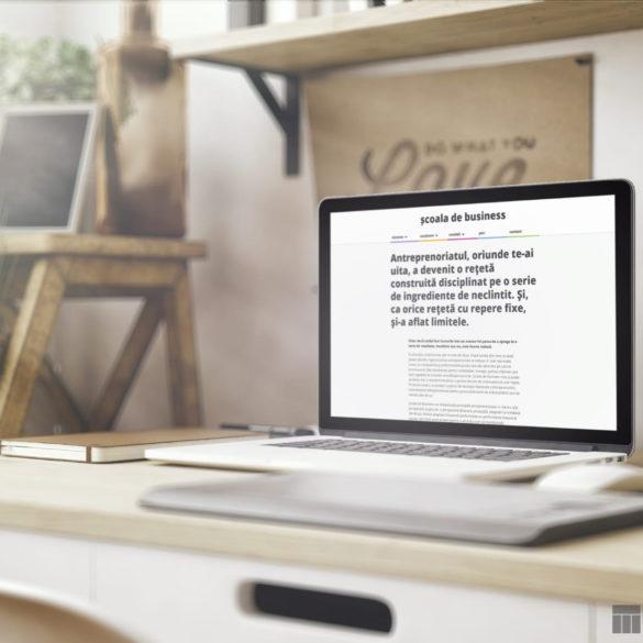 Web Design Bucuresti - Scoala de Business (scoaladebusiness.ro)