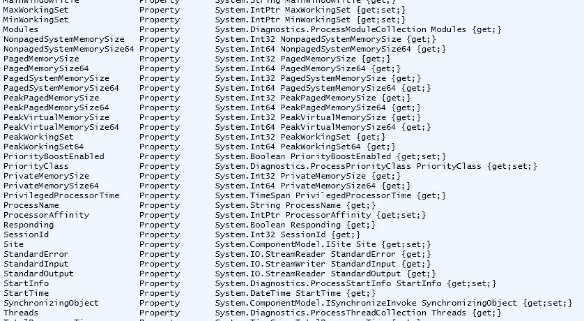 Part 1 – Windows Process List