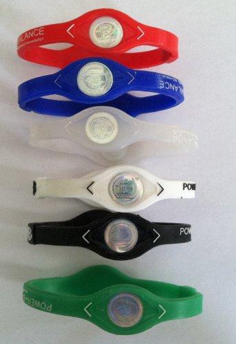 1-Dozen-Power-Balance-Ion-Titanium-BaseballSports-Power-Bands-CLOSEOUT-PRICE-0
