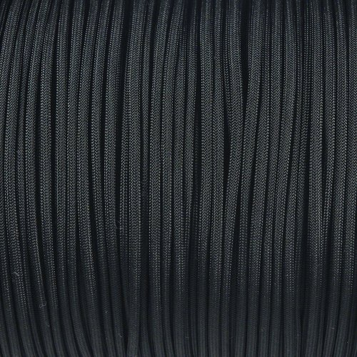 1000-Foot-Spool-Black-Parachute-Cord-7-Strand-Core-550-Cord-0-1