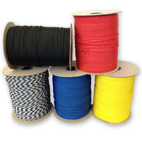 250-1000-Spools-of-Parachute-Cord-ParacordPlanet-Type-III-Military-Specification-550-0