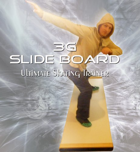 3G-Ultimate-Skating-Trainer-Slide-Board-6ft-x-2ft-Premium-Thick-0-0