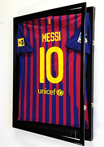 98-UV-Protection-Baseball-Football-Basketball-Soccer-Hockey-Jersey-Display-Case-Shadowbox-Wall-Mount-0