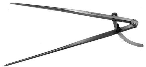 CSOsborne-106-6-Wing-Divider-with-Maximum-opening-6-Steel-Model-57012-Tools-Outdoor-gear-supplies-0