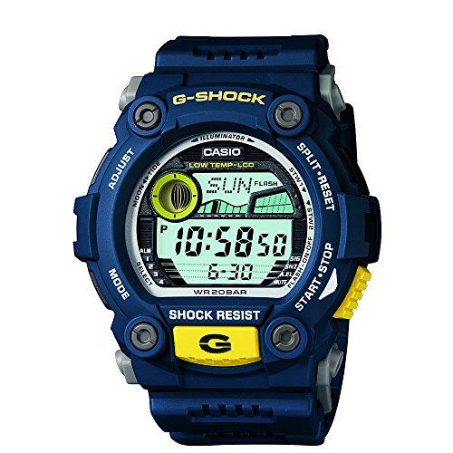 Casio-Mens-G-7900-2DR-G-Shock-Blue-Resin-Digital-Dial-Watch-0