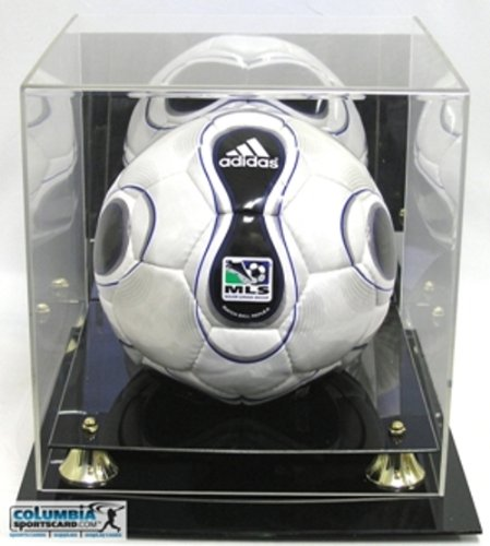 DELUXE-UV-PROTECTED-SOCCER-BALL-DISPLAY-CASE-W-MIRROR-0