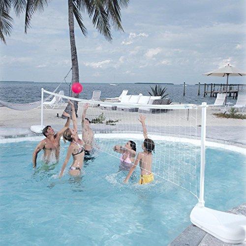 Dunn-Rite-Aqua-Volly-Portable-Pool-Volleyball-Set-0