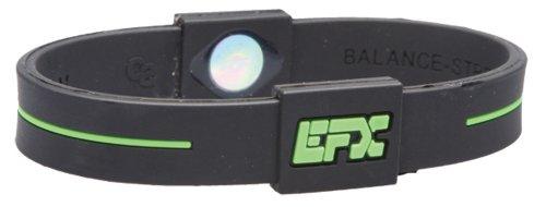 EFX-Silicone-Sport-Bracelet-8-Inch-BlackGreen-0