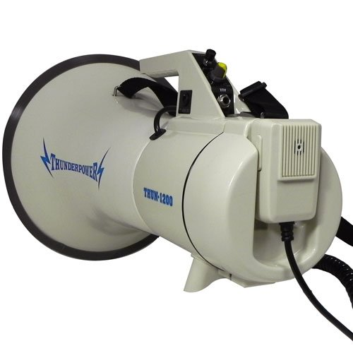 Extra-Loud-Heavy-Duty-Megaphone-ThunderPower-1200-45-Watts-of-Power-0-0