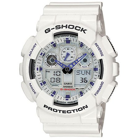 G-Shock-GA100A-7A-Classic-Series-Designer-Watches-White-0