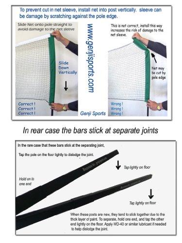 Genji-Sports-Portable-Indoor-Badminton-Outdoor-Post-and-Net-Set-0-0