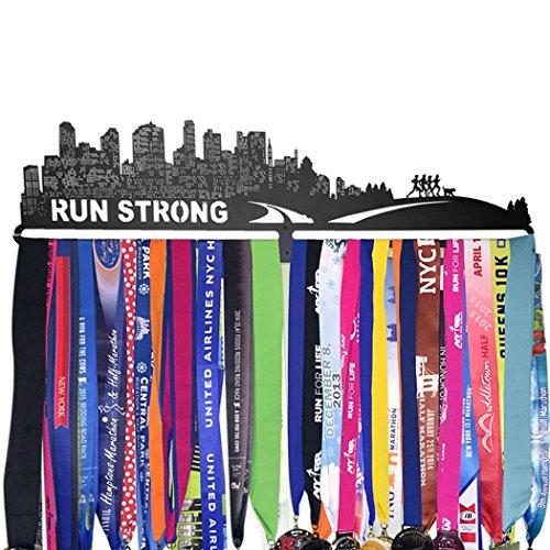GoneForaRun-RUN-STRONG-Runners-Extra-Long-Race-Medal-Hanger-0