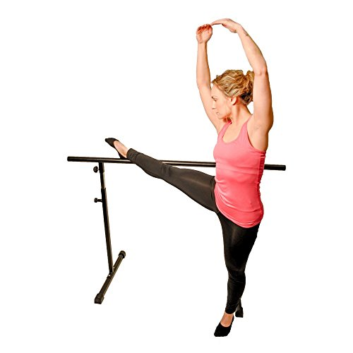 Health-Mark-Freestanding-Balance-Barre-with-Travel-Bag-0