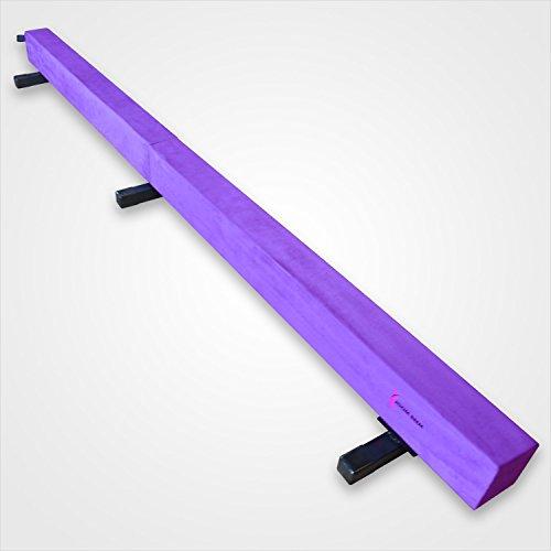 Joom-Beem-Purple-8FT-SUEDE-BALANCE-BEAM-LOW-PROFILE-0