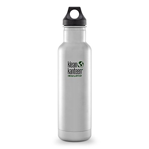 Klean-Kanteen-Classic-Insulated-20-Ounce-Stainless-Steel-Bottle-With-Loop-Cap-0