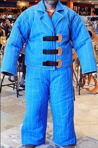 Large-Body-Protection-Police-Dog-Training-Bite-Suit-Jacket-Paint-K-9-Schutzhund-0