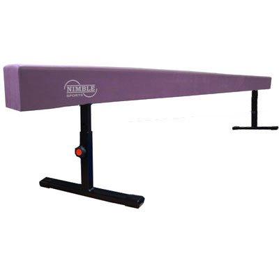 Little-Gym-Deluxe-Adjustable-Bar-Adjustable-Balance-Beam-8ft-Folding-Mat-6ft-Landing-Mat-0-1