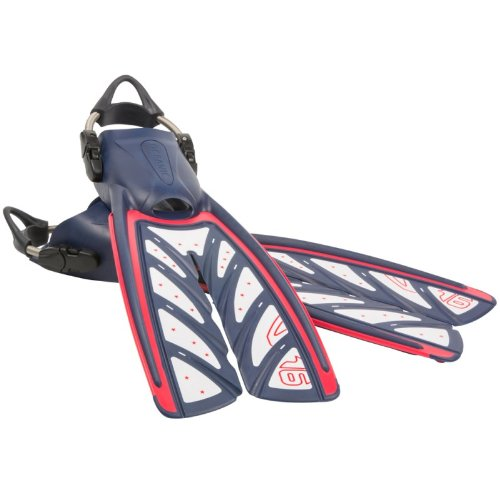 New-Oceanic-Vortex-V-16-Split-Fins-with-Spring-Straps-Patriotic-Red-White-Blue-Size-11-12X-Large-7-Donated-Towards-Veterans-Training-ProgramsFBM-0