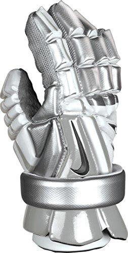 Nike-Vapor-Elite-14-Inch-Lacrosse-Glove-White-Silver-0