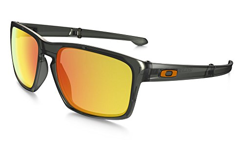 Oakley-Mens-Sliver-F-Polarized-Foldable-Iridium-Rectangular-Sunglasses-0