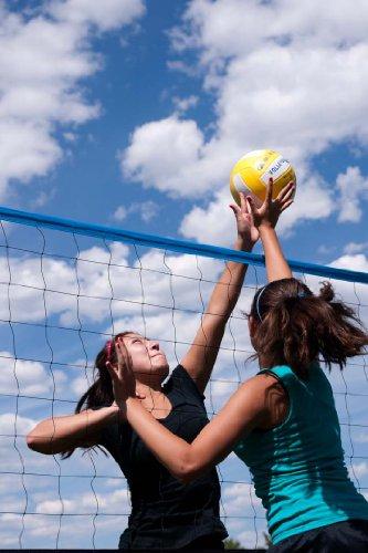Park-Sun-Spiker-Sport-Steel-Volleyball-Net-Blue-0-0