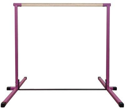 Pink-Junior-Non-Adjustable-Horizontal-Bar-0