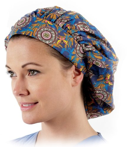Prestige-Medical-Nurses-Bouffant-Style-Scrub-Caps-0