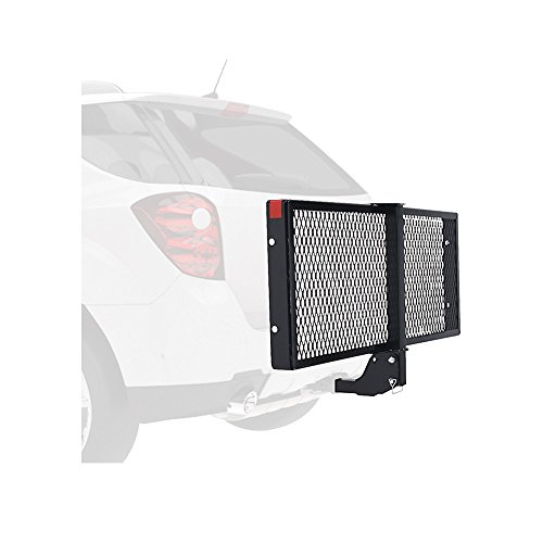 Pro-Series-6502-StrongArm-Hitch-Mounted-Folding-Cargo-Carrier-for-2-Receivers-0-0