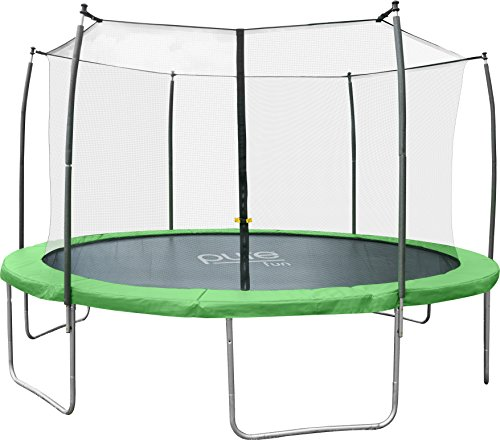 Pure-Fun-Dura-Bounce-12-Foot-Outdoor-Trampoline-with-Enclosure-0