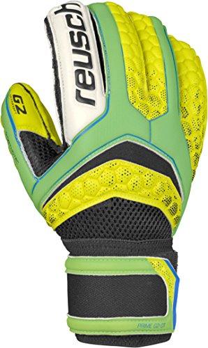 Reusch-Soccer-Pulse-Prime-G2-Ortho-Tec-Goalkeeper-Glove-YellowGreen-Pair-0