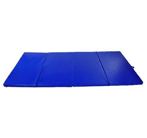 Soozier-PU-Leather-Gymnastics-TumblingMartial-Arts-Folding-Mat-0