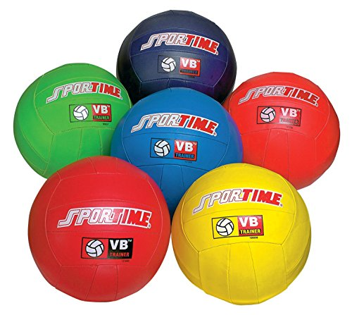 Sportime-VB-Volleyball-Trainers-Set-of-6-Assorted-Colors-0