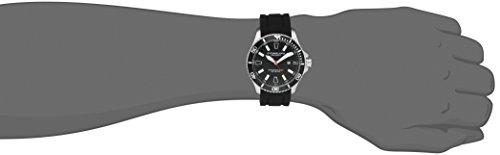 Stuhrling-Original-Aquadiver-Regatta-Mens-Black-Watch-Quartz-Analog-Swim-Sports-Watch-Black-Dial-Date-Display-Waterproof-Watch-Luminous-Professional-Dive-Watch-with-rubber-Strap-70601-0-0