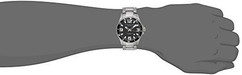 Stuhrling-Original-Mens-39533B11-Aquadiver-Regatta-Analog-Swiss-Quartz-Stainless-Steel-Link-Bracelet-Watch-0-0