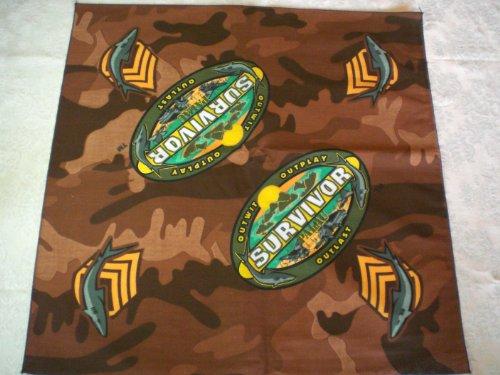 Survivor-TV-Bandanas-Set-of-10-Palau-Camo-Brown-Bandanasl-Representing-Koror-Tribe-0