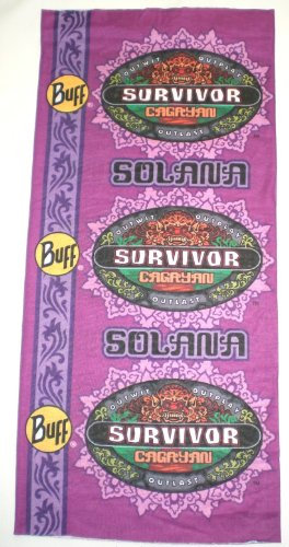 Survivor-TV-Buffs-Season-28-Cagayan-PURPLE-Brawn-vs-Brains-vs-Beauty-Solana-Tribe-Buff-0