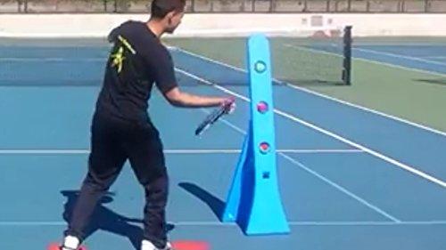 Tennis-Equipment-Ball-Machine-Training-Tool-Aid-0