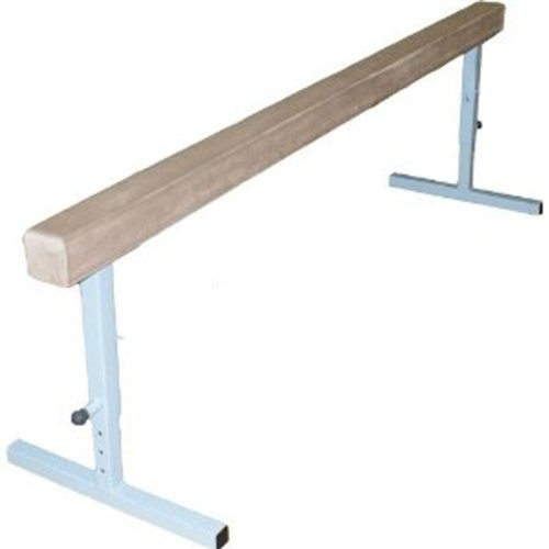 The-Beam-Store-Adjustable-Height-8-Feet-Tan-Suede-Balance-Beam-30-Inch-0-0