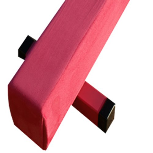 The-Beam-Store-Pink-Suede-Balance-Beam-and-Pink-Folding-Panel-Mat-8-Feet-0-1